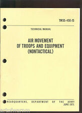TM 55-450-15 : Air Movement of Troops and Equipment  1971 SB US Army Vietnam era