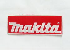 Makita Embroidered Patch Iron on T-shirt or Jacket 2.0x5.4 In.