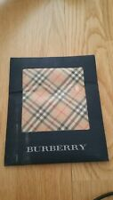 Burberry Bandana Pocket Square Handkerchief Neckerchief Check Beige Brown