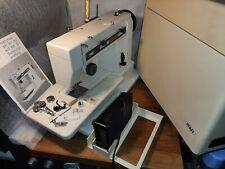 PFAFF Hobbymatic807 Freiahrm mit Anschibetisch Zickzack Nähmaschine Top-Zustand