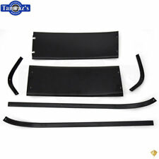67-68 Mustang Fastback Interior Rear Upper Roof Trim Panel & Side Molding 6 pc