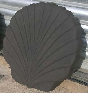 """450mm x 400mm (18x16"""") Shell stepping stones - various colours - Collection ONLY"""