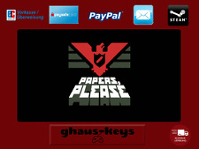 Papers, Please Steam Key Pc Game Download Code Neu Blitzversand