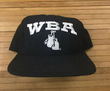 Vintage New Era WBA World Boxing Association Snapback Hat Cap Tyson Holyfield