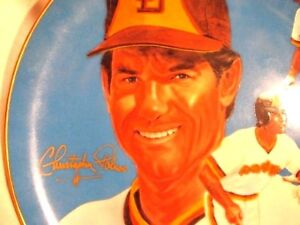 S.D, PADRES STEVE GARVEY Plate Christopher Paluso personalized hand signed