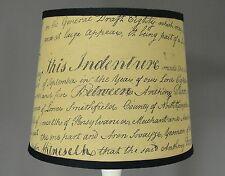 "12"" Indenture Script Shade"