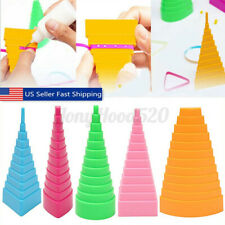 5Pcs Paper Quilling Border Buddy Bobbin Tower Quilled Creation Diy Papercraft