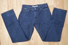"Bench Women's Blue Original Denim Jeans Waist 28"" Leg 30"" Zip Fly UK10"
