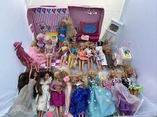 Huge 100+ Lot Vtg 1960s-90s Barbie Dolls Clothes Accessories Ken Skipper Kelly