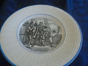 Christopher Columbus Plate