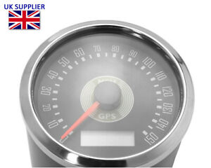 Motorcycle GPS Speedometer Smiths Style for Cafe Racer Retro Custom Project MPH