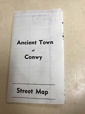 Ancient Town of Conwy Street Map