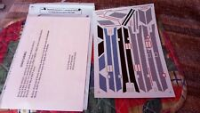 MICROSCALE 48- 1/48 SCALE DECALS NOS USN / USMC F-4 PHANTOM WALKWAYS