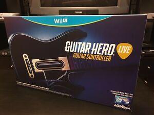 Wii U Guitar Hero Live Guitar Controller - New Sealed