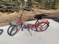 Vintage Bianchi Folding Bicycle w/ Original 1976 Palo Alto Bicycle License