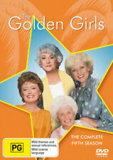GOLDEN GIRLS Season 5 (Region 2 UK Compatible) DVD The Complete Series Five
