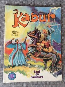 Kabur N° 1 1975 Lug TBE