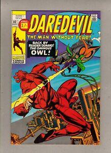 "DAREDEVIL #80_SEPT 1971_VERY FINE/NEAR MINT_""THE OMINOUS OWL""_BRONZE AGE UK!"