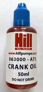 Hill Pumps EC-3000 Crank Oil - 50ml Bottle - 073000-A73 (Z3000-004)