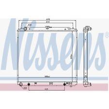 Nissens Kühler, Motorkühlung Nissan Np300 Navara,Pathfinder III 68717 Nissan