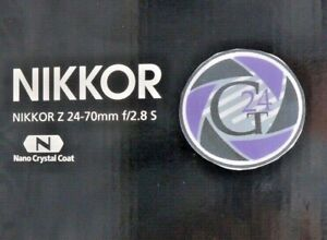 Objektiv Nikon Z Nikkor Z 24-70mm f/2.8 S - TOP - 24 Monate Gewährleistung