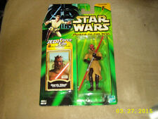 Star Wars Power of the Jedi Darth Maul Sith Apprentice Brown cloak Green card