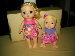 BABY ALIVE DOLL LOT~2016 SOFT FACE SWEET TEARS, CRIES, COUGHS, TALKS 35 PHRASES