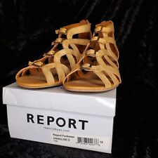 Report Womens Sandals - Annalise D Tan Size 10 worn once
