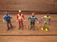 Vintage LOT Kenner Real Ghostbusters Heroes 1980's Action Figures