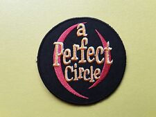 POP, ROCK, PUNK, METAL MUSIC SEW ON & IRON ON PATCH:- A PERFECT CIRCLE