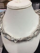 14 MM , Milano Rope Chain Rhodium Plated Sterling Silver 925