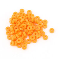 100 Pcs Yellow Plastic Spacer Gasket 5mmx2mmx2mm for RC Toy Gear Motor