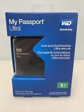 Western Digital My Passport Ultra 1TB USB 3.0 External Portable Hard Drive