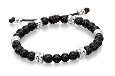 Fred Bennett Onyx Sterling Silver Jewellery for Men