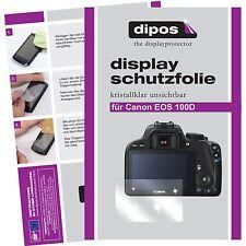 6x Canon EOS 100D Pellicola Prottetiva Transparente Proteggi Schermo
