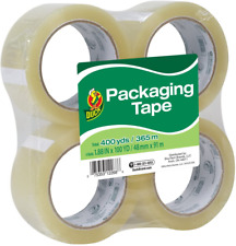 Standard Packing Tape Refill 4 Rolls 188 Inch X 100 Yards 240593