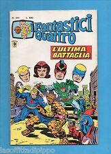 SUPER EROI - I FANTASTICI QUATTRO - CORNO -N.201- 18 DICEMBRE 1978-NON DI RESA