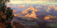 Art Giclee Western Arizona Landscape oil painting Hd Printed on Canvas P1036
