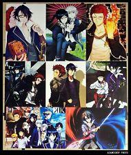 K Manga Anime  8 Posters Affiches 42x30cm K