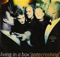 LIVING IN A BOX gatecrashing DCDL 1676 uk chrysalis 1987 DOUBLE LP PS EX/EX