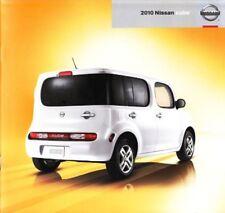 2010 10 Nissan Cube  original sales brochure Mint