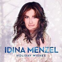 1 CENT CD Holiday Wishes - Idina Menzel SEALED/CHRISTMAS/WICKED