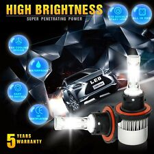 H13 9008 285750LM High Low Beam CREE LED Headlight Bulbs For Ford F150 2004-2014