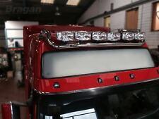 To Fit 2013+ Volvo FM4 Euro6 Globetrotter Steel Roof Light Bar + Flush LED