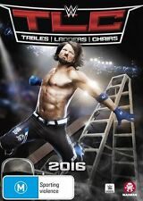 WWE - TLC - Tables, Ladders, Chairs 2016 (DVD, 2017)