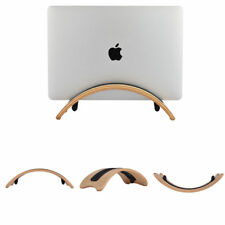 SamDi Wooden Birch Desk Holder Stand Display Dock Bracket fr Laptop MacBook Pro