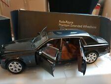 Kyosho Rolls Royce Phantom EWB Darkest Tungston 1:18