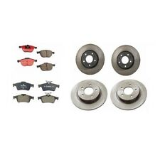 Mazda 3 L4 2.3L 2004 - 2007 Front And Rear Disc Rotors And Disc Pads Brake KIT