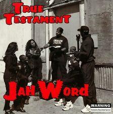JAH WORD True Testament CD 1997 RARE 90's San Diego Christian G-funk Rap OG
