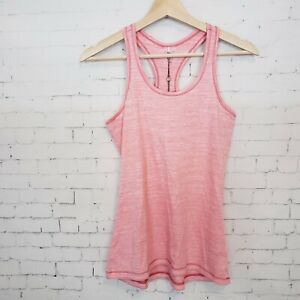 Calia Carrie Underwood Activewear Tank Top XS Pink Heathered Racerback NEW